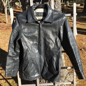 1b84d6c61d9 Jim   MaryLou Thinsulate Heavy Leather Moto Jacket